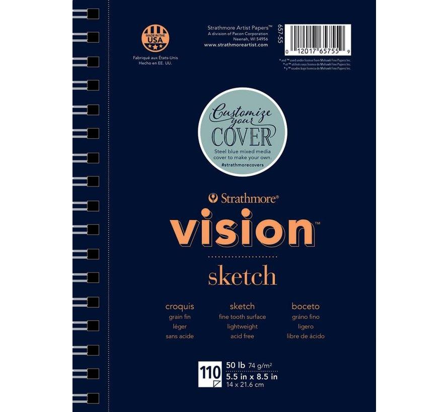 200 serie Vision Schets 14x21,6cm