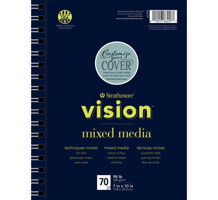 200 serie Vision Mixed media papier 18x25,4cm