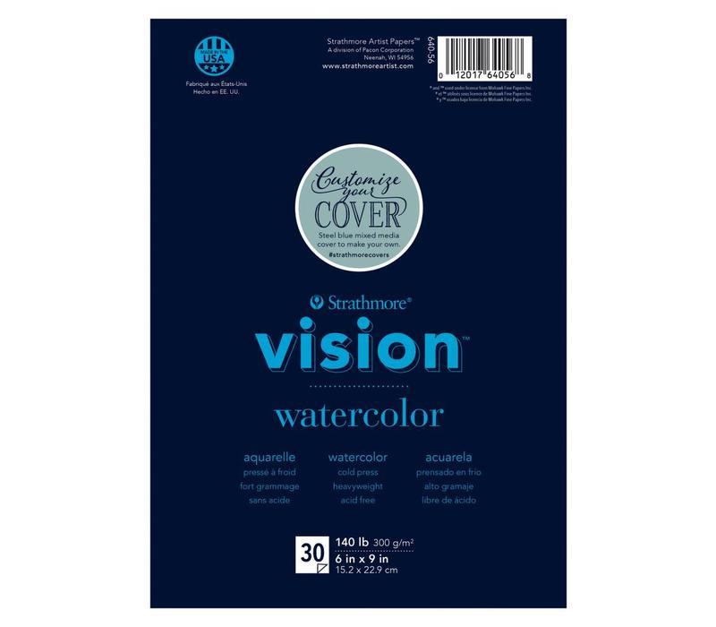 200 serie Vision Aquarel papier 15x22,9cm