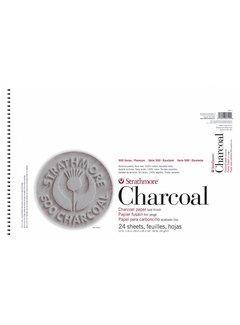 Strathmore 500 serie Houtskool Pad Wit 30x45,7 cm