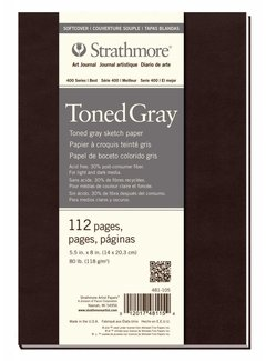 Strathmore Toned Gray Schets 14x20,3cm softcover