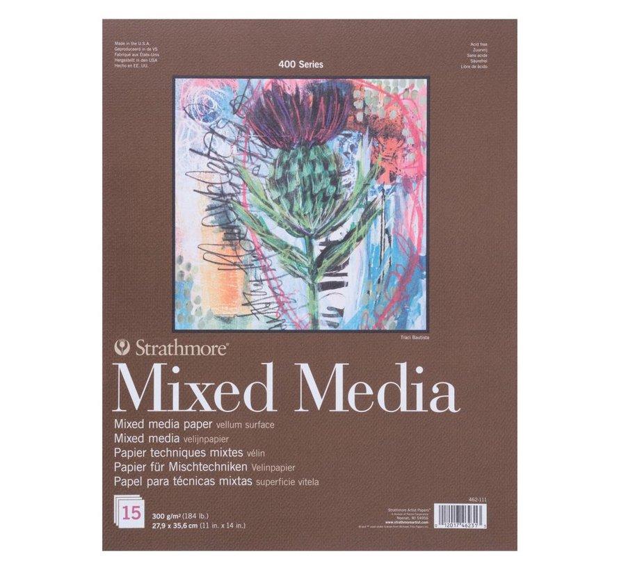 400 serie Mixed Media 27,9x35,6 15 vellen