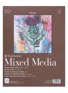 Strathmore 400 serie Mixed Media 22,9x30,5 15 vellen