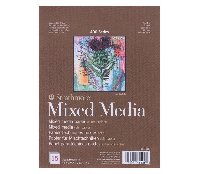 400 serie Mixed Media 15,2x20,3 15 vellen