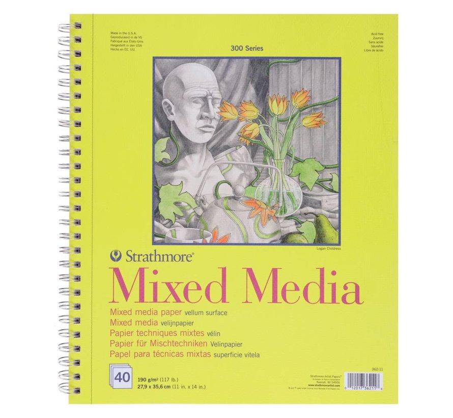 300 serie Mixed Media 27,9x35,6 40 vellen