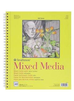 Strathmore 300 serie Mixed Media 22,9x30,5 40 vellen