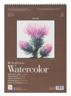 Strathmore 400 serie Aquarelpapier 22,9x30,5 12 vellen