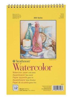 Strathmore 300 serie Aquarelpapier 27,9x38,1 12 vellen