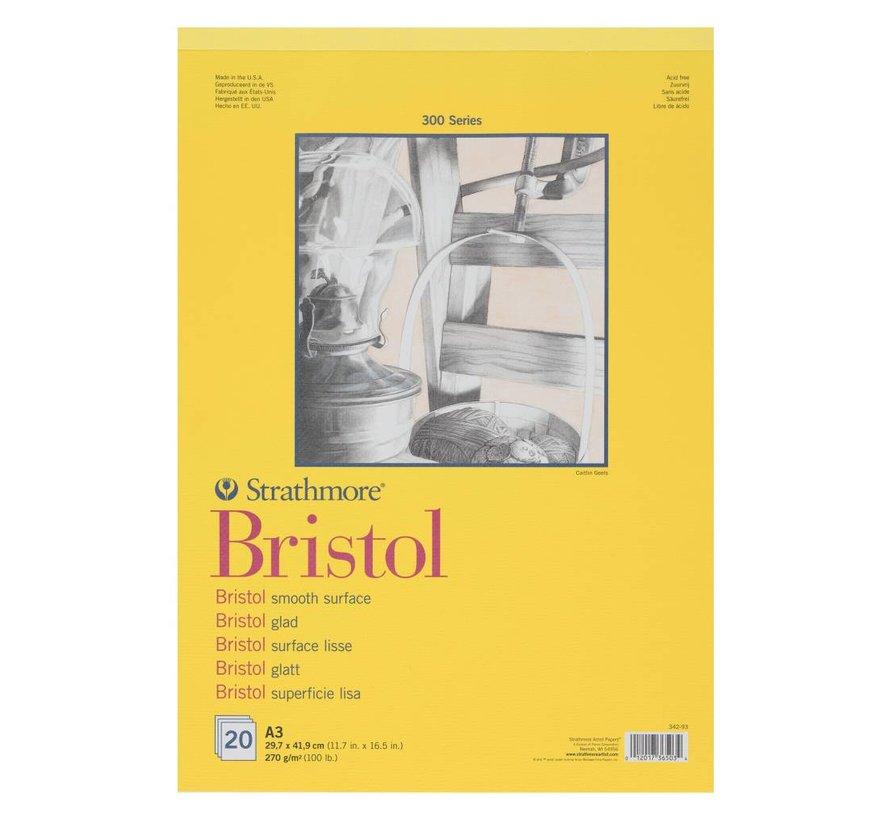 300 serie Bristol Glad A4 20 vellen