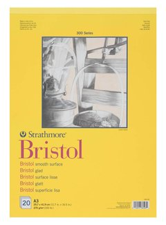 Strathmore 300 serie Bristol Glad A3 20 vellen