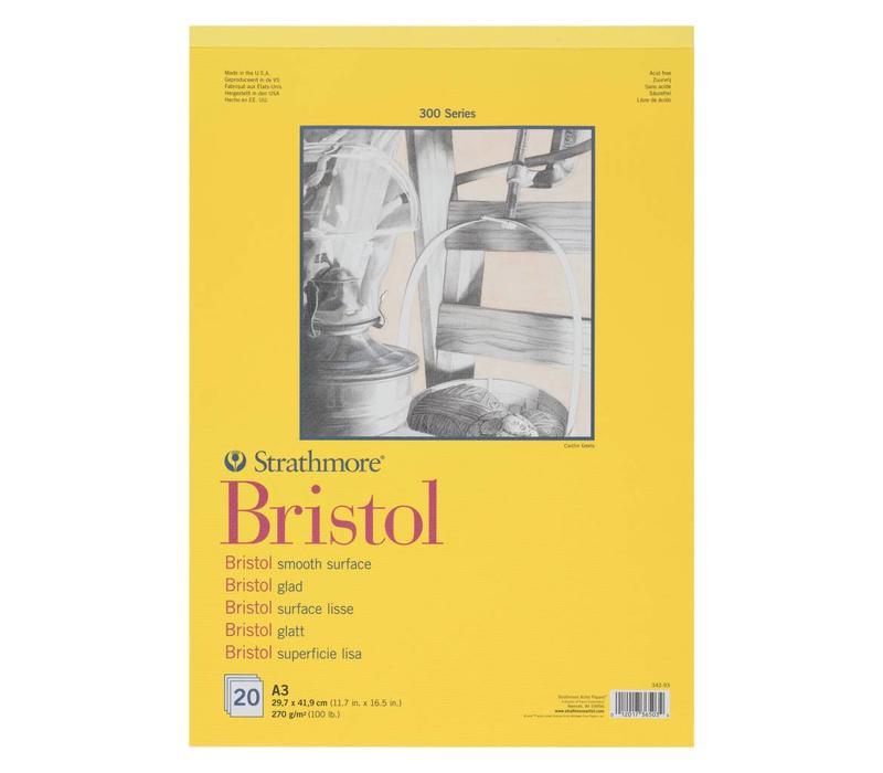 300 serie Bristol Glad A3 20 vellen