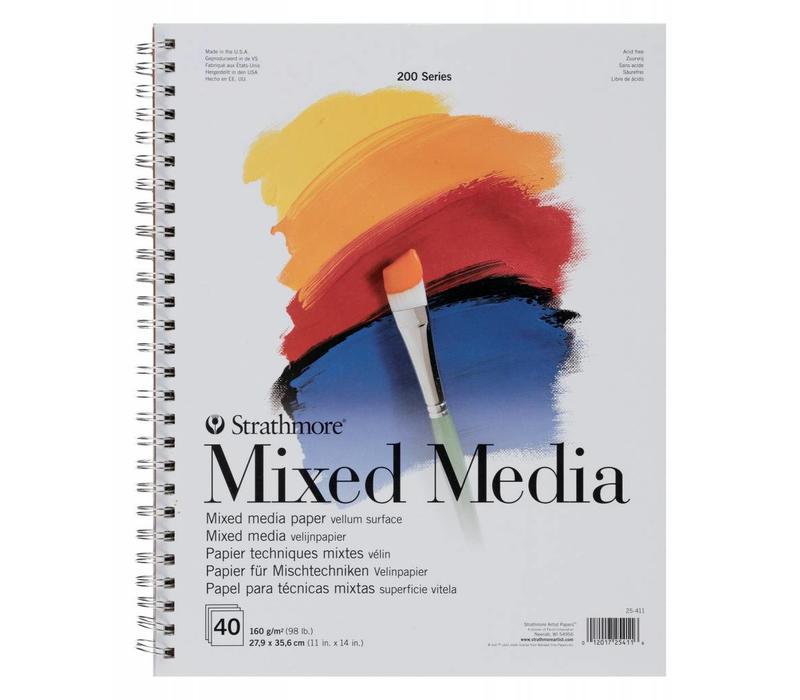200 serie Mixed Media 27,9x35,6 40 vellen