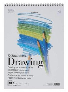 Strathmore 200 serie Tekenpapier A4 40 vellen