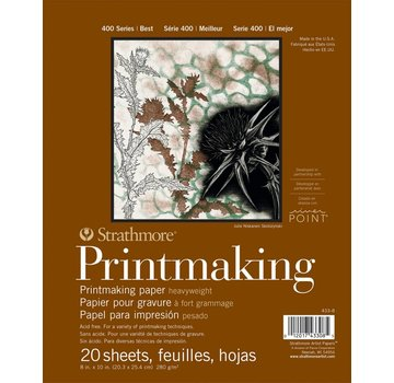 Strathmore 400 serie Printmaking papier 20,3x25,4 20 vellen