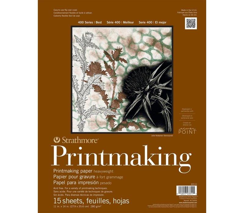 400 serie Printmaking papier 27,9x35,6 15 vellen