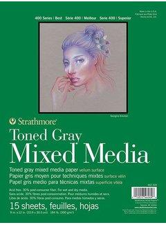 Strathmore Toned Gray Mixed media blok 23x30,5cm