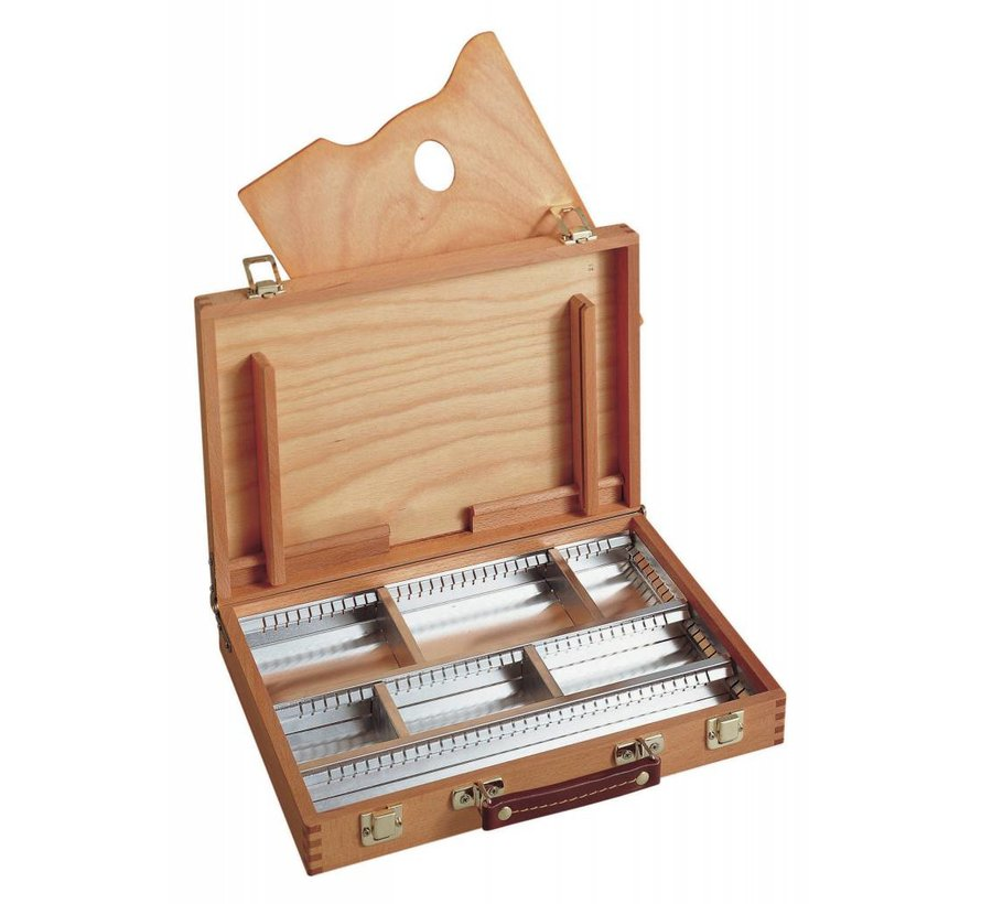 Lege houten kist 25x35 cm M101