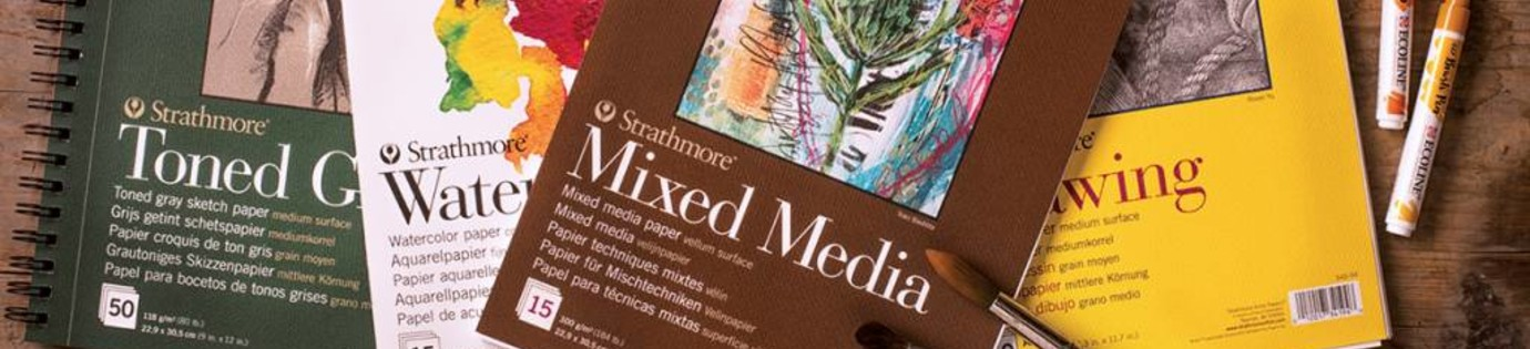 Strathmore, het nieuwe topkwaliteit papiermerk