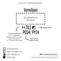 Amsterdam acrylverf 500ml standard 348 Permanentrood purper
