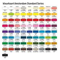 Amsterdam acrylverf 500ml standard 396 Naftolrood middel