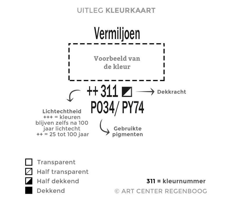 Amsterdam acrylverf 500ml standard 398 Naftolrood licht