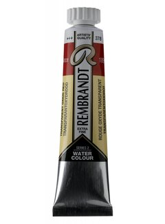Rembrandt Aquarelverf 20ml Transparantoxydrood 378