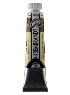 Rembrandt Aquarelverf 20ml Omber naturel 408