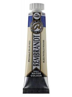 Rembrandt Aquarelverf 20ml Phtaloblauw rood 583