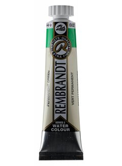 Rembrandt Aquarelverf 20ml Permanentgroen 662