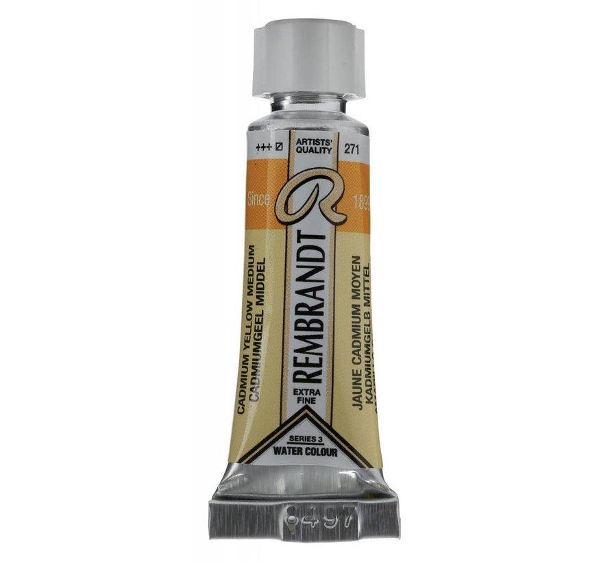 Aquarelverf 5ml Cadmiumgeel middel 271