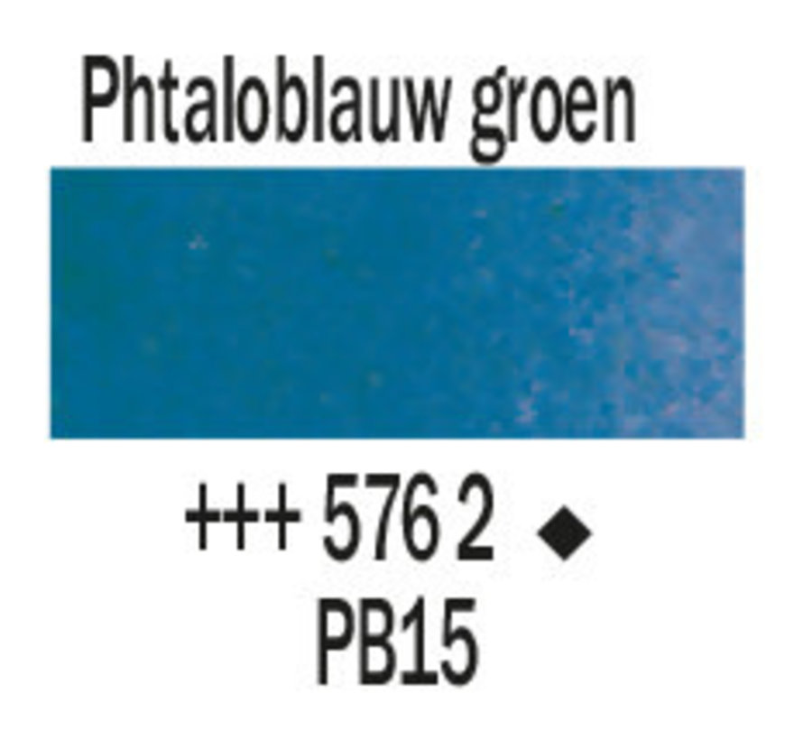 Aquarelverf 20ml Phtaloblauw groenachtig 576
