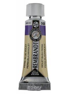 Rembrandt Aquarelverf 5ml Permanentblauwviolet 568