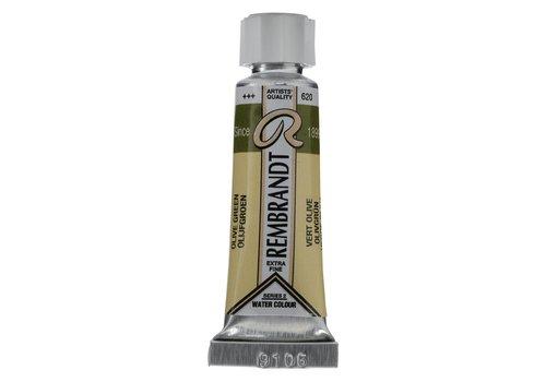 Rembrandt Aquarelverf 5ml Olijfgroen 620