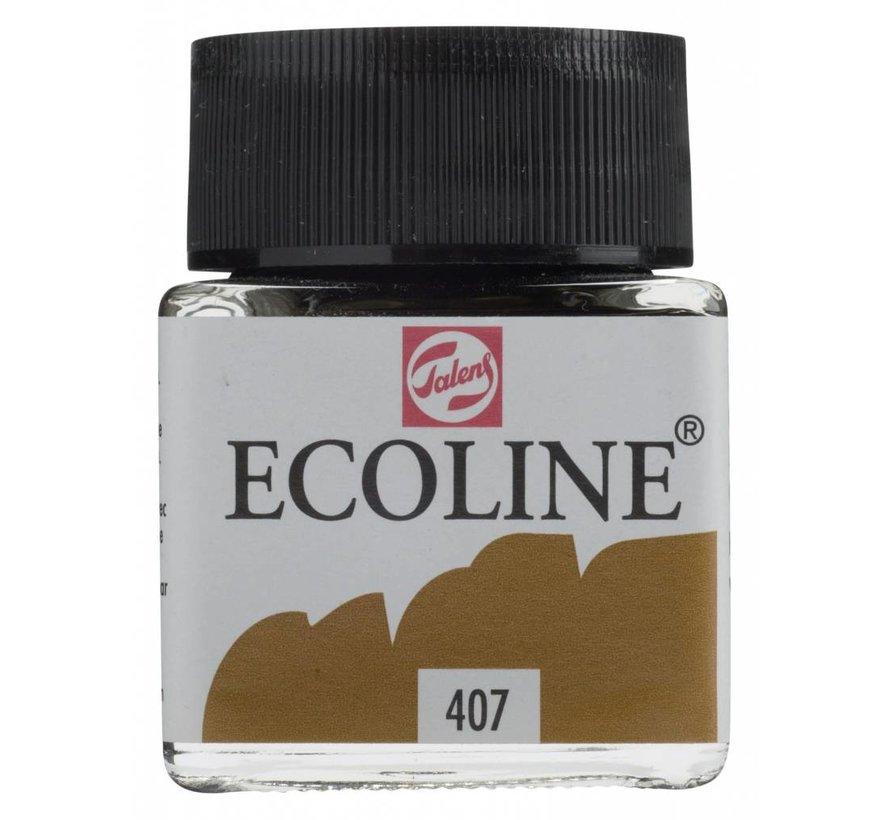 Ecoline 30ml Donkere oker