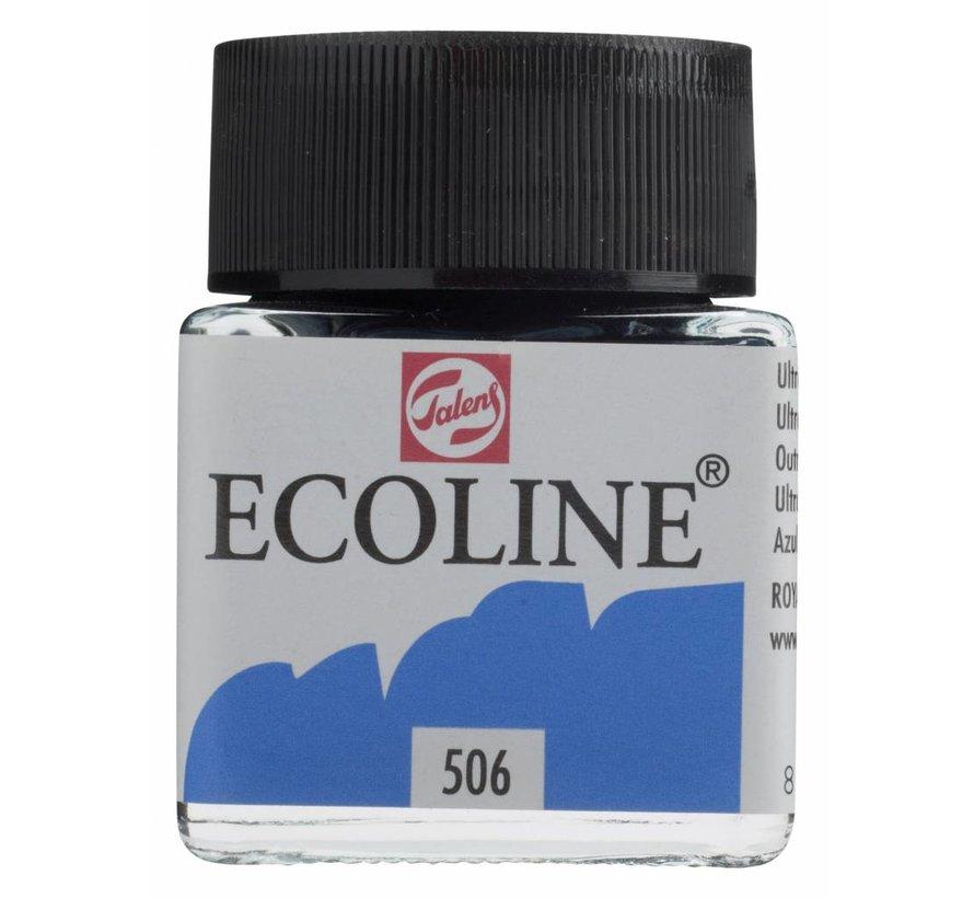 Ecoline 30ml Ultramarijn donker