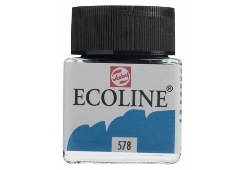 Talens Ecoline 30ml Hemelsblauw (cy.)