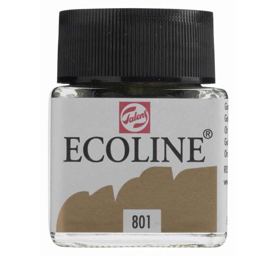 Ecoline 30ml Goud