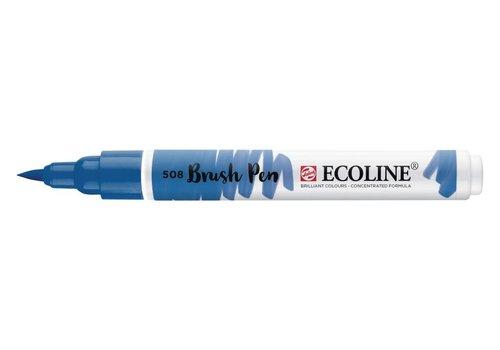 Talens Ecoline brushpen Pruisisch Blauw