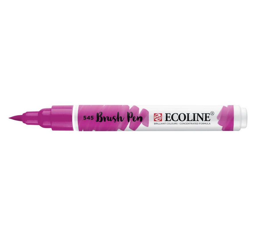 Ecoline brushpen Roodviolet