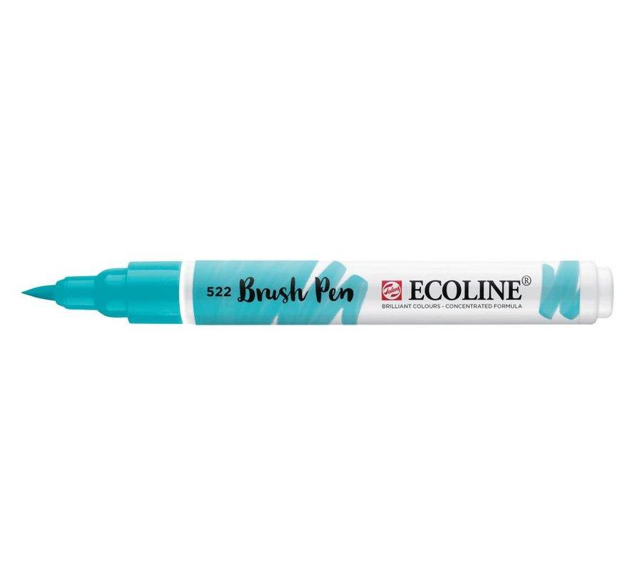 Ecoline brushpen Turkooisblauw