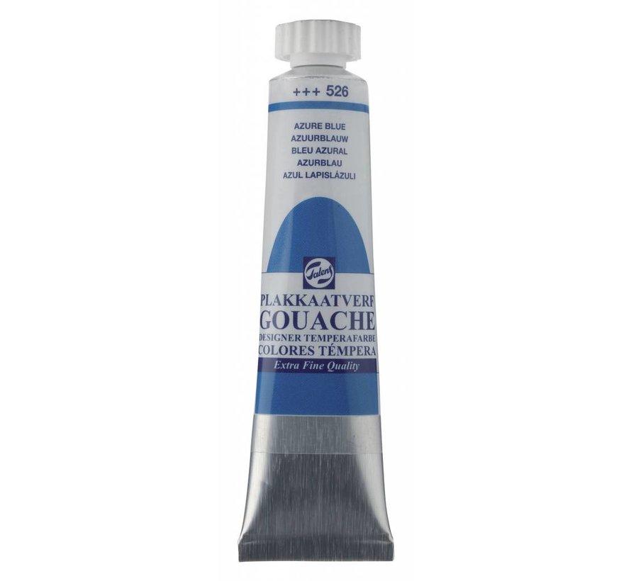 Plakkaatverf extra fijn 20ml Azuurblauw