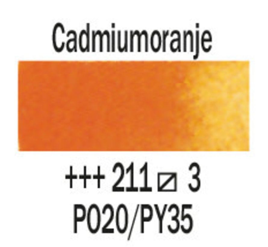 Aquarelverf 5ml Cadmiumoranje 211