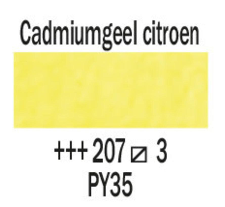 Aquarelverf napje Cadmiumgeel citroen 207