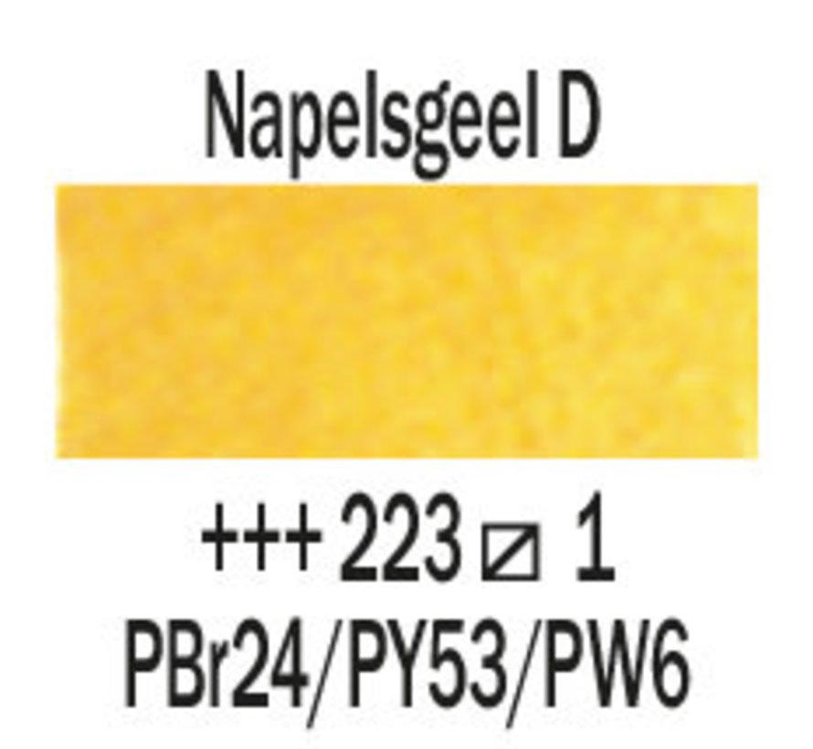 Aquarelverf 5ml Napelsgeel donker 223