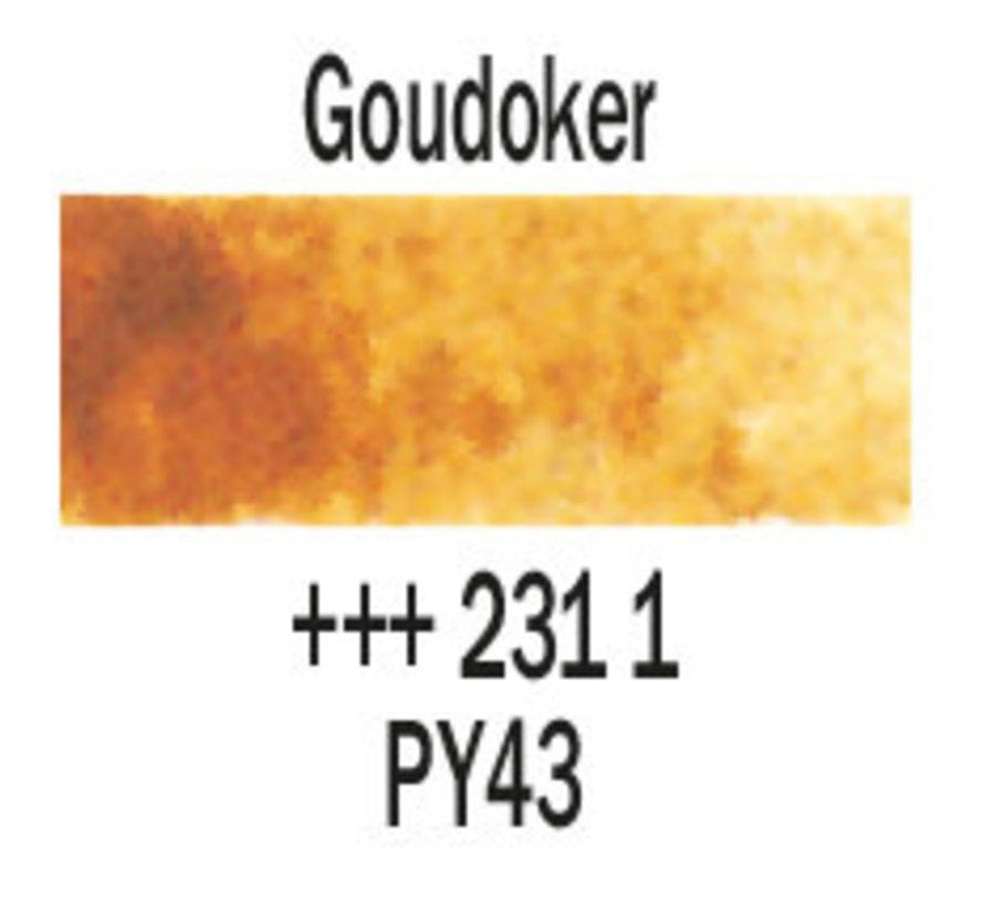 Aquarelverf napje Goudoker 231