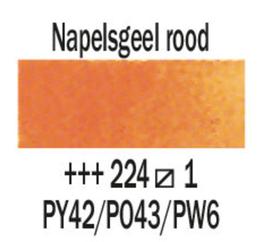 Aquarelverf 5ml Napelsgeel rood 224