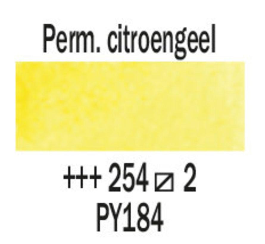 Aquarelverf 5ml Perm. citroengeel 254