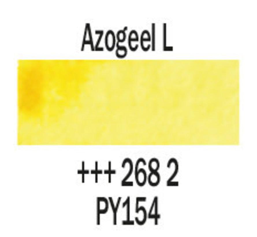 Aquarelverf napje Azogeel licht 268