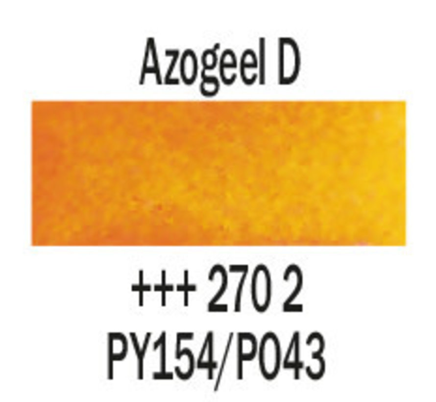 Aquarelverf 5ml Azogeel donker 270
