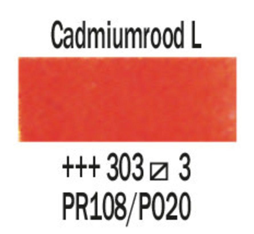 Aquarelverf 20ml Cadmiumrood licht 303